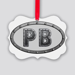 PB Metal Picture Ornament