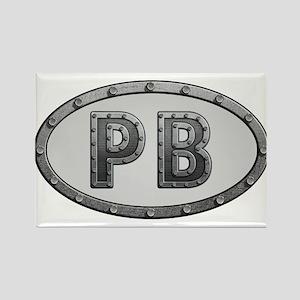 PB Metal Rectangle Magnet