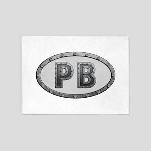 PB Metal 5'x7'Area Rug