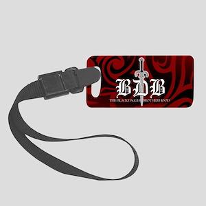 BDB Red Logo Small Luggage Tag