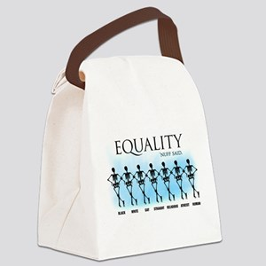 Equality Canvas Lunch Bag