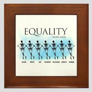 Equality Framed Tile