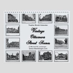 Vintage Streets Wall Calendar