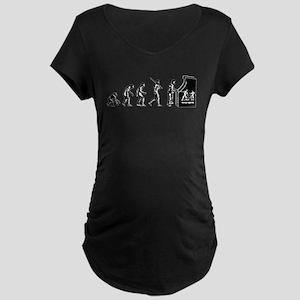 Video Game Evolution Maternity Dark T-Shirt