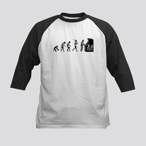 Video Game Evolution Kids Baseball Jersey