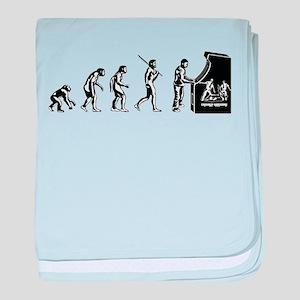 Video Game Evolution baby blanket