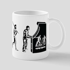 Video Game Evolution Mug
