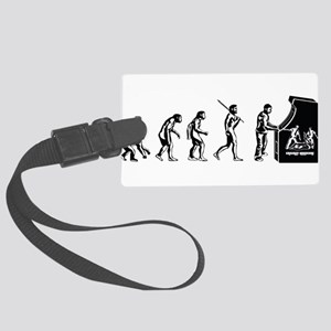 Video Game Evolution Large Luggage Tag