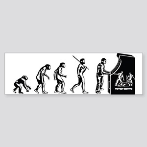 Video Game Evolution Sticker (Bumper)