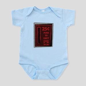 25c Push To Eject Infant Bodysuit