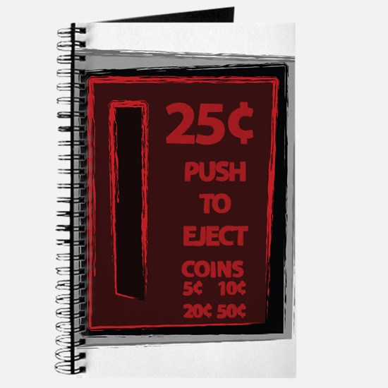 25c Push To Eject Journal