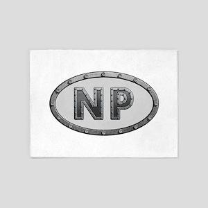 NP Metal 5'x7'Area Rug