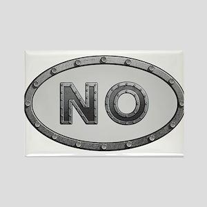 NO Metal Rectangle Magnet