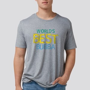 World's Best Bubba Grandmot Mens Tri-blend T-Shirt