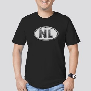 NL Metal Men's Fitted T-Shirt (dark)