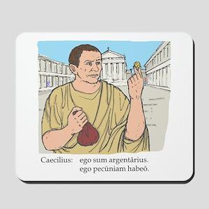 caecilius_col Mousepad