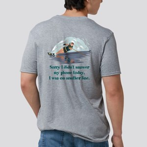 WaterSki Mens Tri-blend T-Shirt