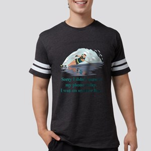 WaterSki Mens Football Shirt