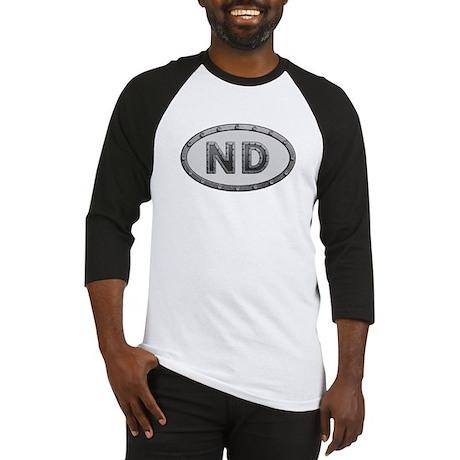 ND Metal Baseball Jersey
