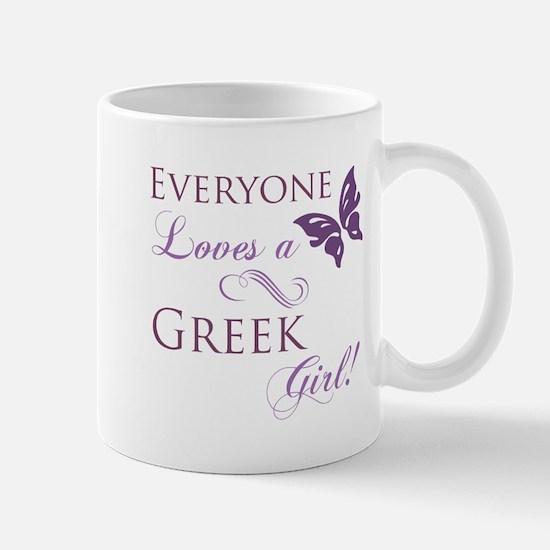 Greek Girl Mug