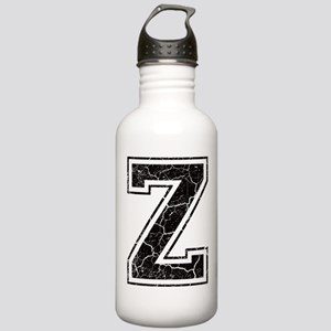 Letter Z in black vintage look Stainless Water Bot