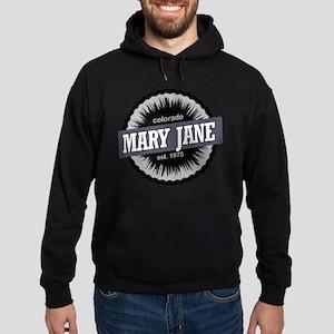 Mary Jane Ski Resort Colorado Black Hoodie (dark)