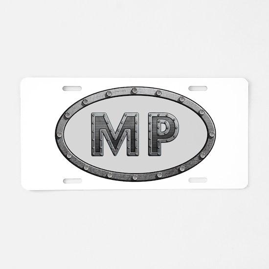 MP Metal Aluminum License Plate