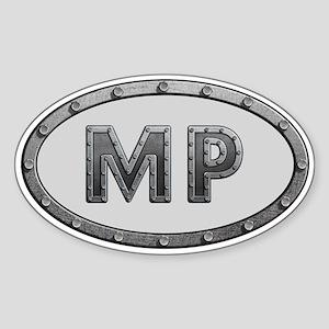 MP Metal Sticker (Oval)