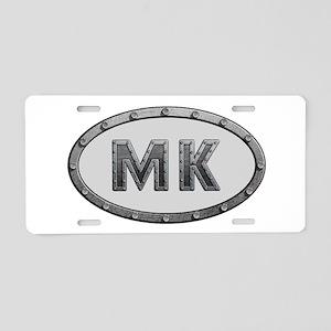 MK Metal Aluminum License Plate
