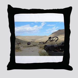 Hills of Bodie Throw Pillow