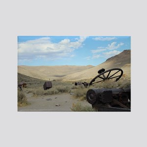 Hills of Bodie Rectangle Magnet