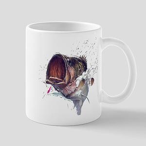 Bass breaking through Mug