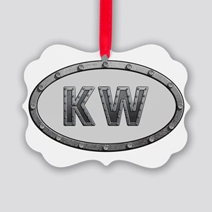 KW Metal Picture Ornament