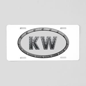 KW Metal Aluminum License Plate