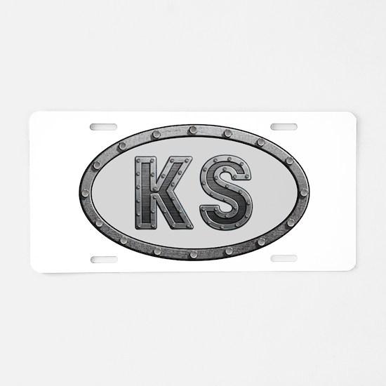 KS Metal Aluminum License Plate