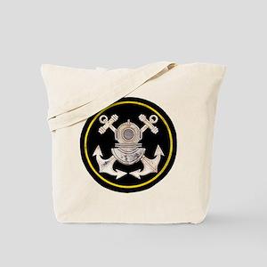 3-Bolt Dive Helmet and Anchors Tote Bag