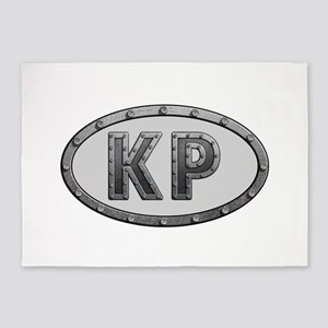 KP Metal 5'x7'Area Rug