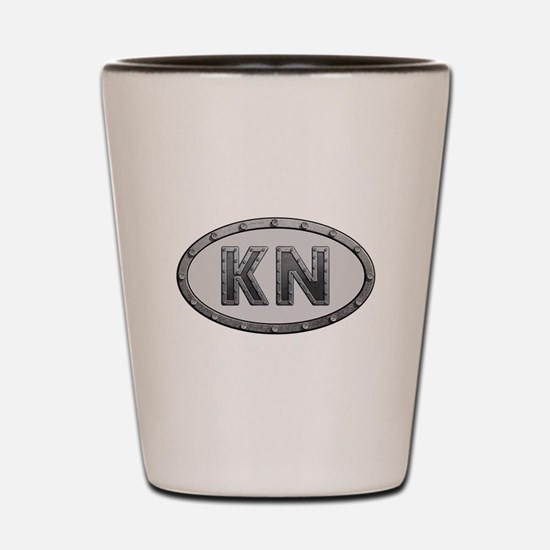 KN Metal Shot Glass
