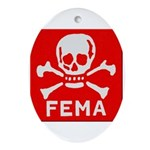 FEMA Ornament (Oval)