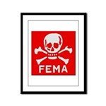 FEMA Framed Panel Print
