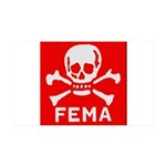 FEMA 35x21 Wall Decal