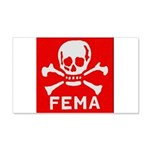 FEMA 20x12 Wall Decal