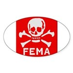 FEMA Sticker (Oval 50 pk)