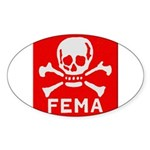 FEMA Sticker (Oval 10 pk)