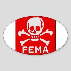 FEMA Sticker (Oval)