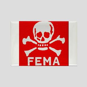 FEMA Rectangle Magnet