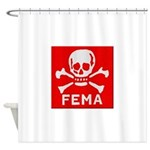 FEMA Shower Curtain