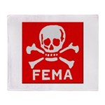 FEMA Throw Blanket