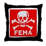 FEMA Throw Pillow