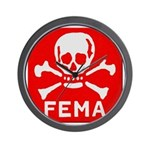 FEMA Wall Clock